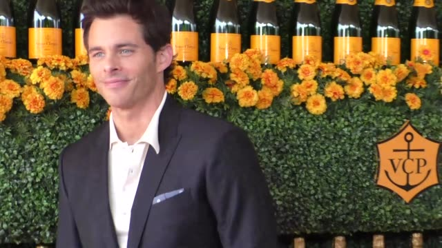 James Marsden at the sixth annual Veuve Clicquot Polo Classic at Will Rogers Historic State Park in Pacific Palisades at Celebrity Sightings in Los...