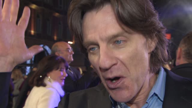 interview james marsh on the story what attracted him to it films about scientists being popular at 'the theory of everything' uk film premiere at... - audio electronics stock videos & royalty-free footage