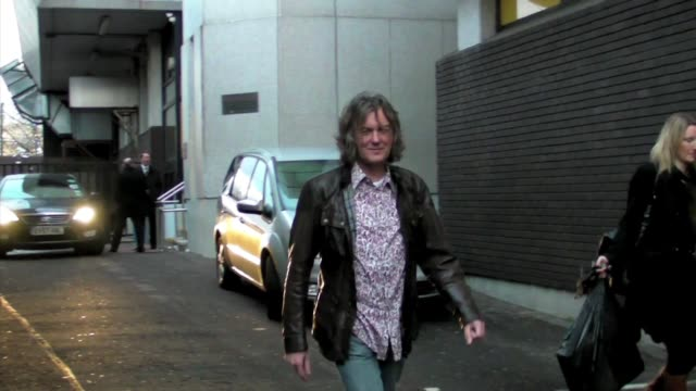 James May at GMTV ITV Studios London at the Celebrity Sightings in London at London England