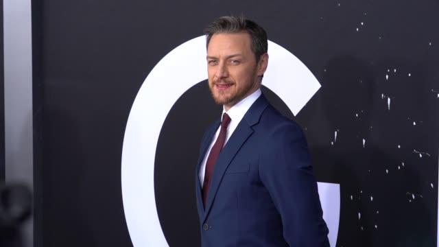 James McAvoy at Glass New York Premiere at SVA Theater on January 15 2019 in New York City