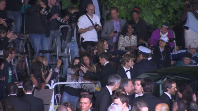 james mcavoy at 'the disappearance of eleanor rigby' red carpet at grand theatre lumiere on may 17 2014 in cannes france - grand theatre lumiere stock videos & royalty-free footage