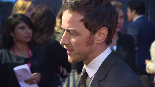 INTERVIEW James McAvoy on how he initially wasn't keen as his son had recently been born how hard it was to be in character and playing Frankenstein...