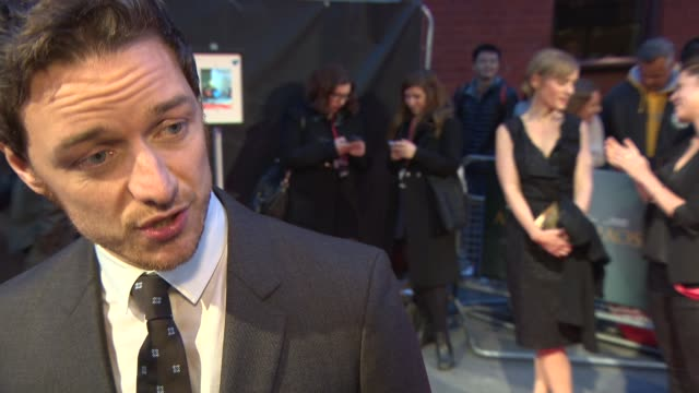 INTERVIEW James McAvoy on Ned Benson's beautiful writing how the film is more grounded in the real world than other love stories working on...