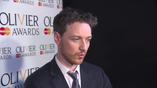 INTERVIEW James McAvoy on why the Olivier Awards are important to him and the unique qualities of performing on a London stage at The Laurence...