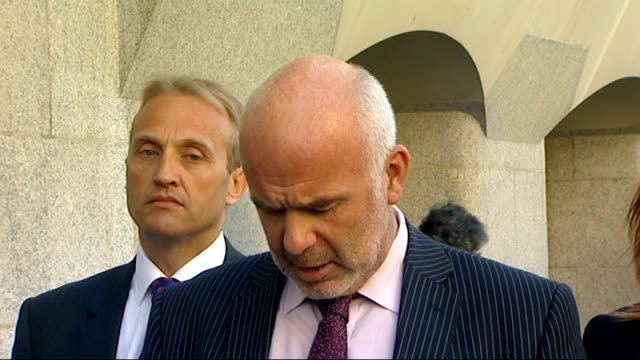 james mccormick jailed for 10 years for selling fake bomb detectors old bailey ext det supt nigel rock speaking to press sot he has shown no shame no... - 人工的点の映像素材/bロール