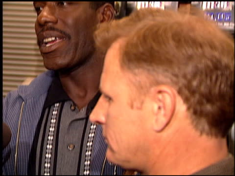 James McDaniel at the NYPD Blue Book Signing at Book Soup in West Hollywood California on November 6 1995