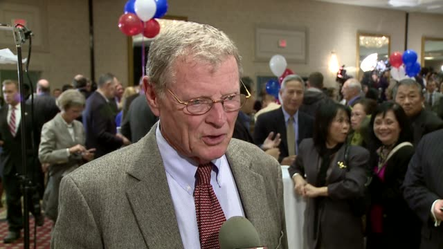 kfor james mountain jim inhofe is the senior united states senator from oklahoma and a member of the republican party - senator stock videos & royalty-free footage