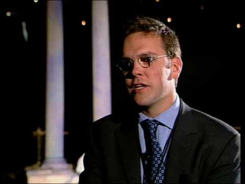 james murdoch promotes launch of cable channel asia england int james murdoch interview sot don't concern myself with that issue focused on making... - channel 4 news stock videos & royalty-free footage