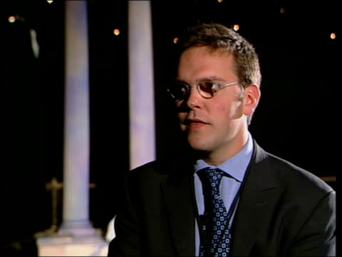 james murdoch promotes launch of cable channel asia england int james murdoch interview sot i'm very competitive/ big markets can support lot of... - channel 4 news stock videos & royalty-free footage