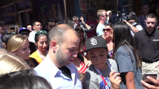 James Murray at ComicCon Celebrity Sightings on July 10 2015 in San Diego California