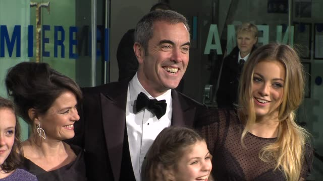 james nesbitt at 'the hobbit' uk premiere and royal film performance at odeon leicester square on december 12, 2012 in london, england. - the hobbit stock videos & royalty-free footage