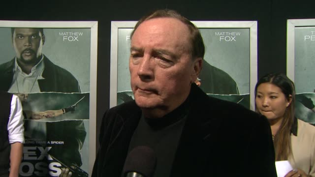 James Patterson on Alex Cross on Tyler Perrry vs Morgan Freeman at Alex Cross Los Angeles Premiere on in Hollywood CA
