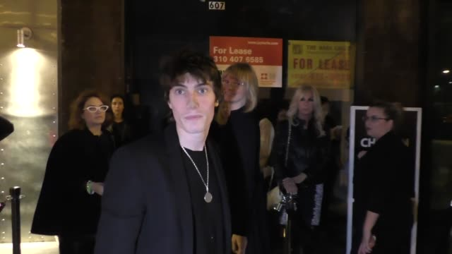 stockvideo's en b-roll-footage met james paxton talks about dressing up as cyndi lauper for halloween outside ep & lp nightclub in west hollywood - cyndi lauper