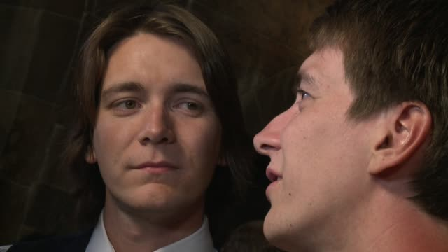 james phelps and oliver phelps - oliver phelps stock videos & royalty-free footage