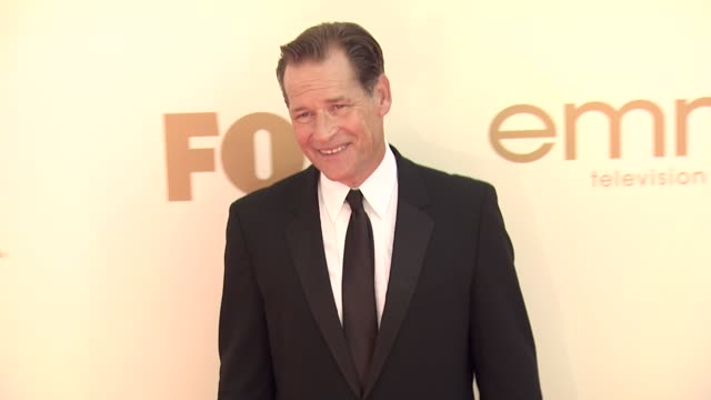 james remar at the 63rd primetime emmy awards arrivals part 1 at los angeles ca - エミー賞点の映像素材/bロール