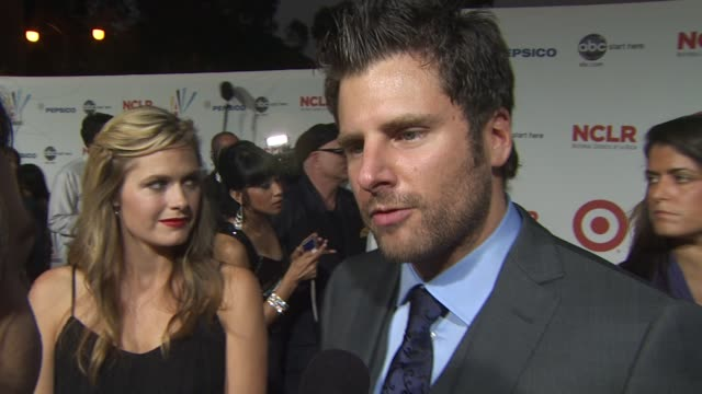 james roday on the importance of the alma awards at the 2009 nclr alma awards at the 2009 alma awards at westwood los angeles ca - alma awards stock videos and b-roll footage