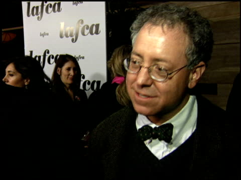 james schamus at the 2006 lafca los angeles film critic's association awards at park hyatt in century city, california on january 17, 2006. - 評論家点の映像素材/bロール