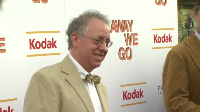 james schamus at the 'away we go' screening at new york ny - away we go video stock e b–roll