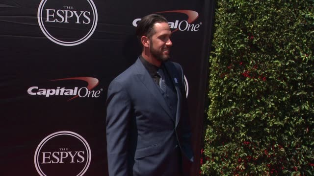 james shields at the 2015 espys at microsoft theater on july 15 2015 in los angeles california - microsoft theater los angeles stock videos and b-roll footage