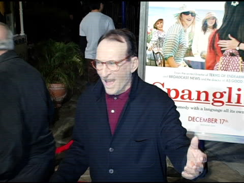 james sikking at the 'spanglish' premiere at the mann village theatre in westwood california on december 9 2004 - spanglish stock videos & royalty-free footage