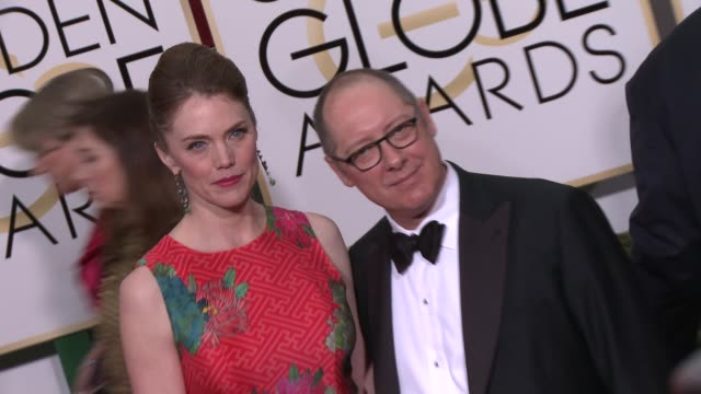 vidéos et rushes de james spader at the 72nd annual golden globe awards - arrivals at the beverly hilton hotel on january 11, 2015 in beverly hills, california. - the beverly hilton hotel