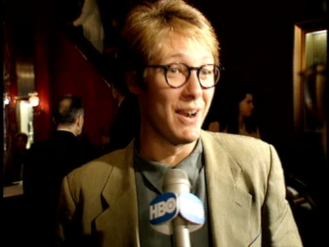 james spader talks to reporter about hearing about the film, reading the script and working with jack nicholson - jack nicholson stock videos & royalty-free footage