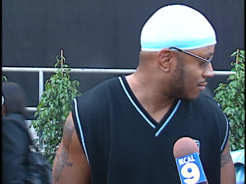 james todd ll cool j smith at the blockbuster awards 1999 at shrine - ll cool j stock videos and b-roll footage
