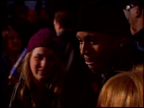 james todd ll cool j smith at the motorola party at music box theatre in los angeles california on december 2 2004 - cool box stock videos & royalty-free footage