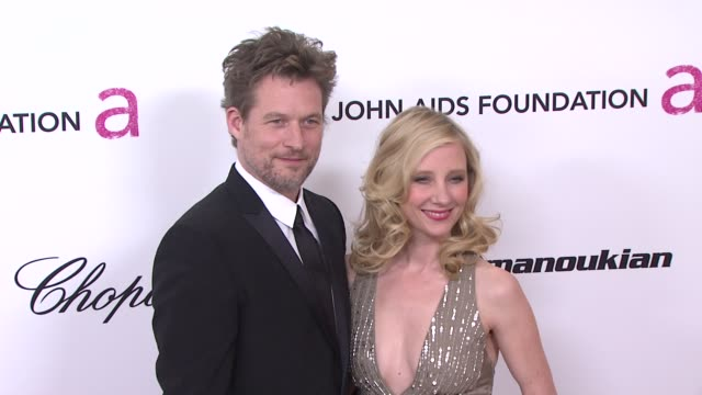 James Tupper and Anne Heche at the 19th Annual Elton John AIDS Foundation Academy Awards Viewing Party Part 2 at West Hollywood CA