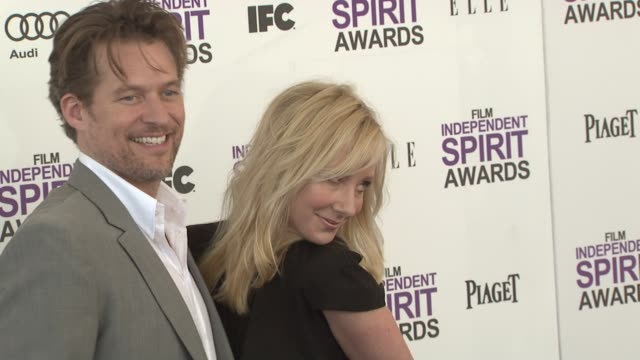 James Tupper Anne Heche at the 2012 Film Independent Spirit Awards Arrivals on 2/25/12 in Santa Monica CA