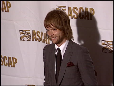 vidéos et rushes de james valentine at the ascap pop music awards at the beverly hilton in beverly hills, california on may 16, 2005. - ascap