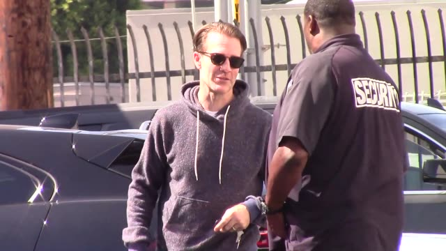 james van der beek outside dancing with the stars rehearsal studio in hollywood in celebrity sightings in los angeles on - dancing with the stars stock videos & royalty-free footage