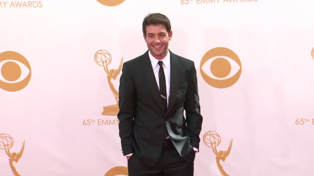james wolk at the 65th annual primetime emmy awards - arrivals in los angeles, ca, on 9/22/13. - annual primetime emmy awards stock-videos und b-roll-filmmaterial