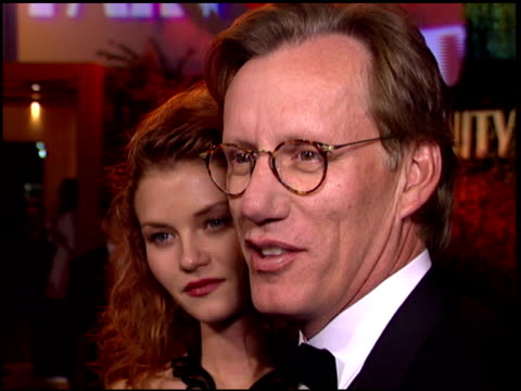 vídeos de stock e filmes b-roll de james woods at the 1996 academy awards vanity fair party at morton's in west hollywood california on march 25 1996 - 68.ª edição da cerimónia dos óscares