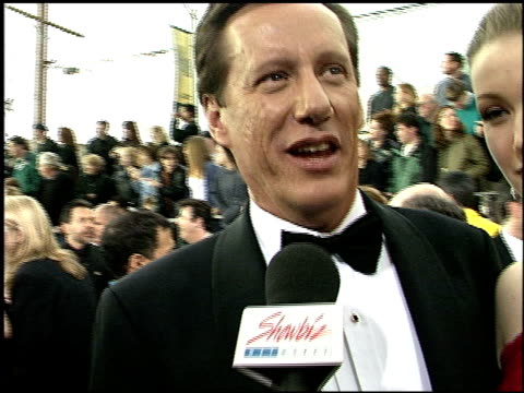 james woods at the 2001 screen actors guild sag awards arrivals at the shrine auditorium in los angeles california on march 11 2001 - screen actors guild awards stock videos & royalty-free footage