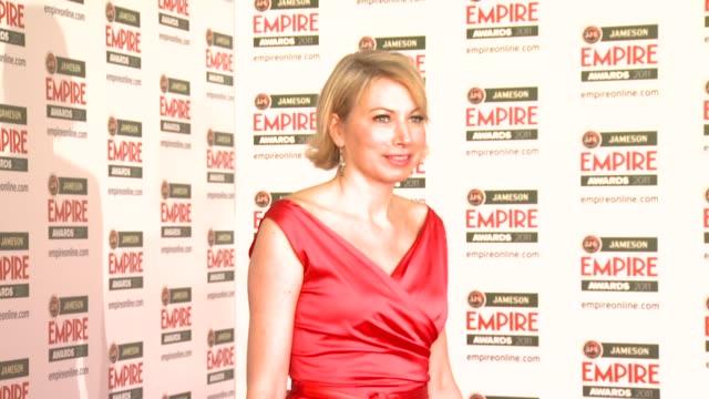 jameson empire awards london uk 03272011 jameson empire awards at the grosvenor house hotel on march 27, 2011 in london, england - イベントまとめ動画点の映像素材/bロール