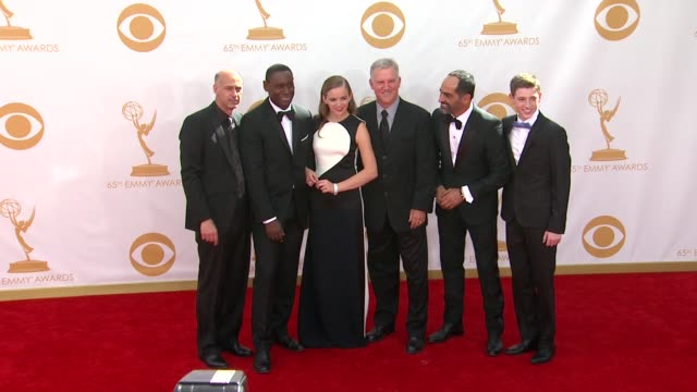 jamey sheridan at the 65th annual primetime emmy awards arrivals in los angeles ca on 9/22/13 - annual primetime emmy awards stock-videos und b-roll-filmmaterial