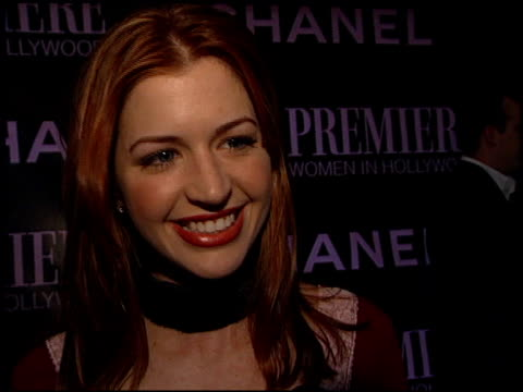 jamie anderson at the women in hollywood awards at the four seasons hotel in beverly hills, california on october 16, 2002. - four seasons hotel stock videos & royalty-free footage