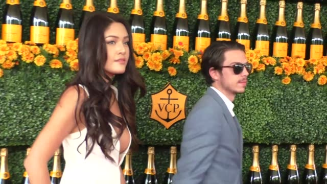 Jamie Charoen and James Charoen at the sixth annual Veuve Clicquot Polo Classic at Will Rogers Historic State Park in Pacific Palisades at Celebrity...