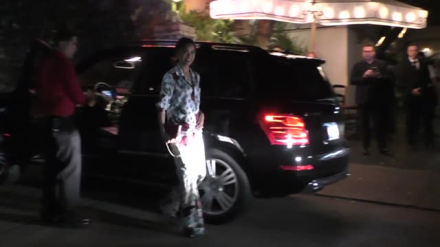 Jamie Chung arriving to the Spotlight Party at Chateau Marmont in West Hollywood in Celebrity Sightings in Los Angeles