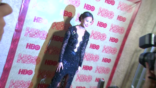 Jamie Chung at HBO's Post 2014 Golden Globe Awards Party at Circa 55 Restaurant on in Los Angeles California