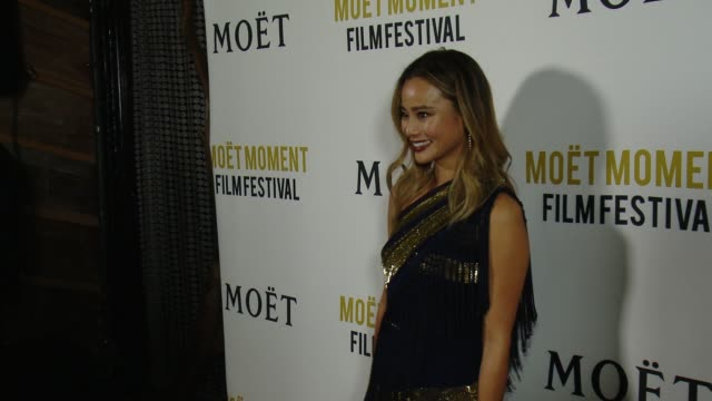 Jamie Chung at Moet Chandon Celebrate the 3rd Annual Moet Moment Film Festival Launch Event at Poppy on January 05 2018 in Los Angeles California