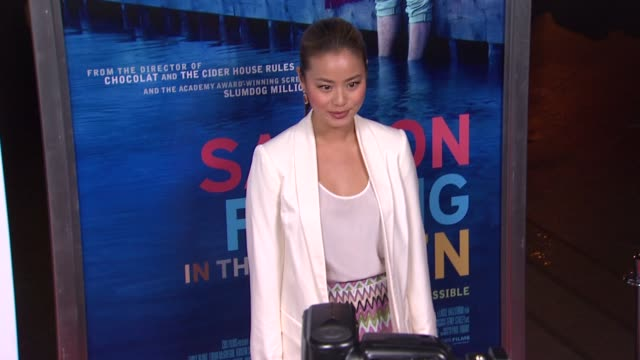 Jamie Chung at Salmon Fishing In The Yemen Los Angeles Premiere on 3/5/2012 in Los Angeles CA
