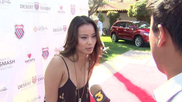 Jamie Chung at the 7th Annual KSwiss Desert Smash at Palm Springs CA