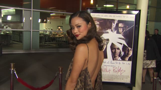 Jamie Chung at the 'Burning Palms' Premiere at Hollywood CA