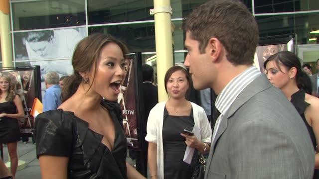 Jamie Chung at the 'Sorority Row' Premiere at Hollywood CA