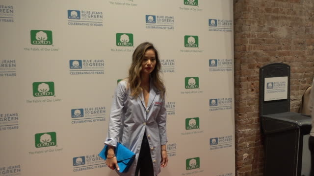 Jamie Chung attends the 10th Anniversary of the Blue Jeans Go Green Denim Recycling Program celebration on November 17 2016 in New York City