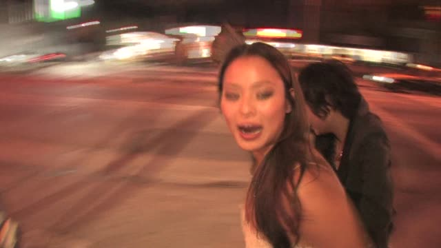 Jamie Chung leaving Voyeur in West Hollywood at the Celebrity Sightings in Los Angeles at Hollywood CA