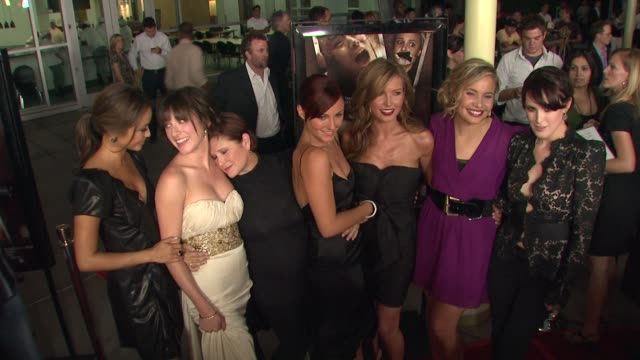 Jamie Chung Margo Harshman Carrie Fisher Briana Evigan Audrina Patridge Leah Pipes Rumer Willis at the 'Sorority Row' Premiere at Hollywood CA