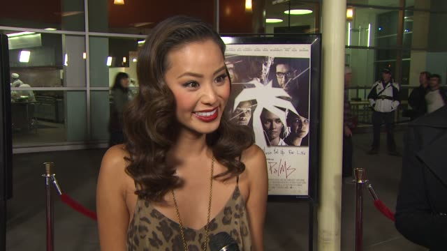 Jamie Chung on what attracted her to this project at the 'Burning Palms' Premiere at Hollywood CA